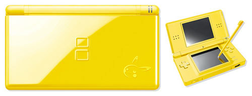 Limited Edition Pikachu DS Lite Yellow Nintendo DS Lite